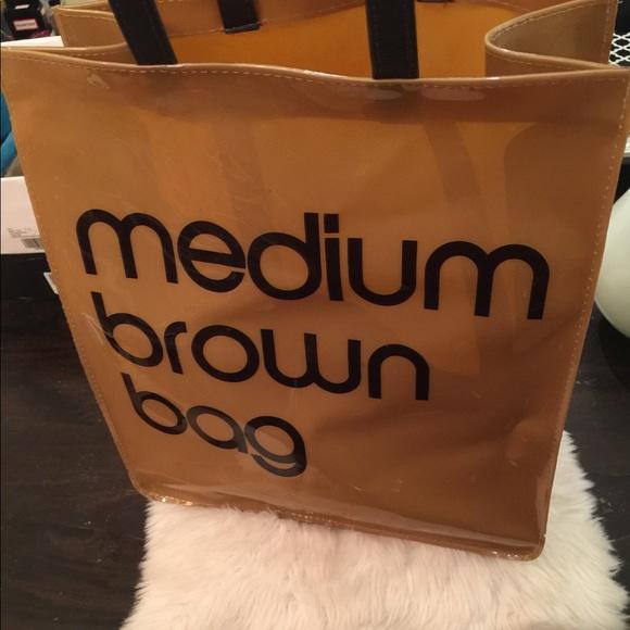 d95081821a Bloomingdale's Handbags - Bloomingdales Medium Brown Bag shopping tote